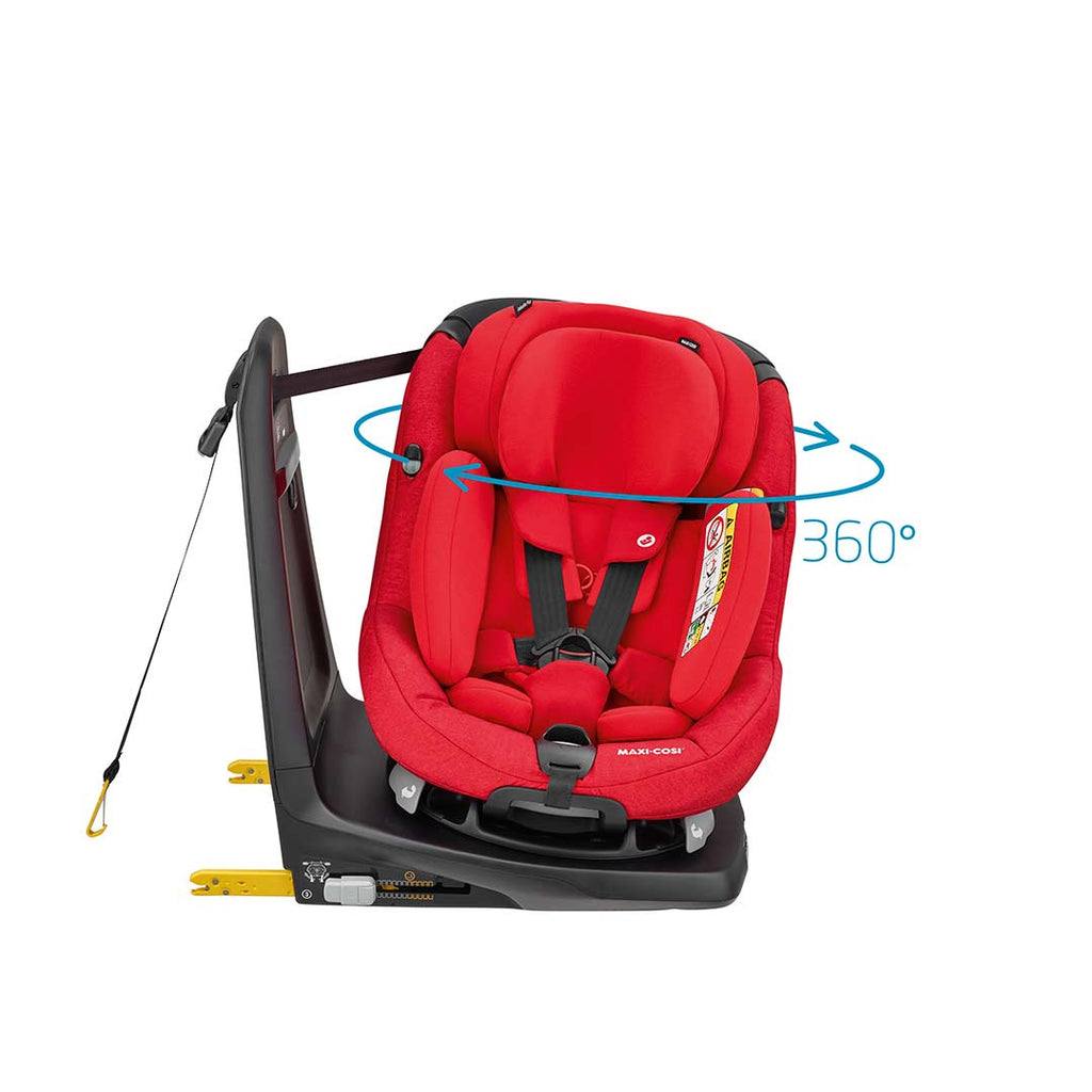 Maxi-Cosi AxissFix Plus Car Seat - Nomad Red-Car Seats- Natural Baby Shower