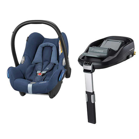Maxi-Cosi CabrioFix & FamilyFix - Nomad Blue-Car Seats- Natural Baby Shower
