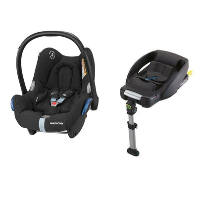 Maxi-Cosi Cabriofix & Easyfix - Frequency Black-Car Seats- Natural Baby Shower