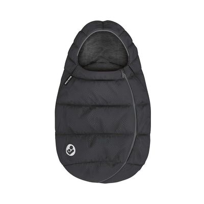 Maxi-Cosi Infant Carrier Footmuff - Essential Black - 2020-Footmuffs- Natural Baby Shower