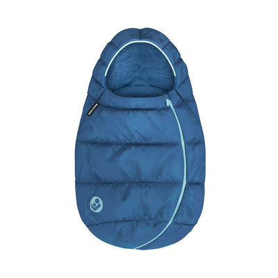 Maxi-Cosi Infant Carrier Footmuff - Essential Blue - 2020-Footmuffs- Natural Baby Shower