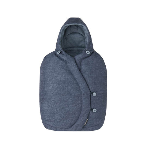 Maxi-Cosi Infant Carrier Footmuff - Nomad Blue-Footmuffs- Natural Baby Shower