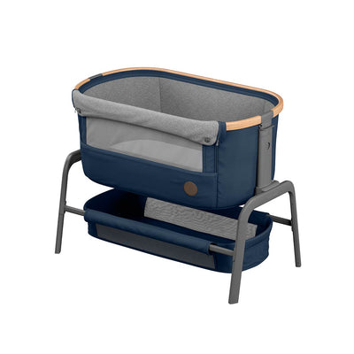 Maxi-Cosi Iora Co-Sleeper Crib - Essential Blue-Cribs- Natural Baby Shower