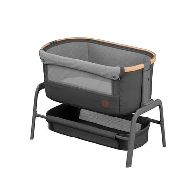Maxi-Cosi Iora Co-Sleeper Crib - Essential Graphite-Cribs- Natural Baby Shower