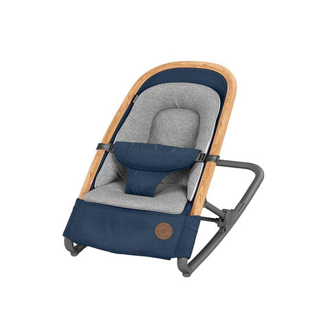 Maxi-Cosi Kori Bouncer - Essential Blue - 2020-Baby Bouncers- Natural Baby Shower