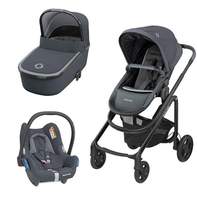 Maxi-Cosi Lila CP Travel System - Essential Graphite-Travel Systems- Natural Baby Shower