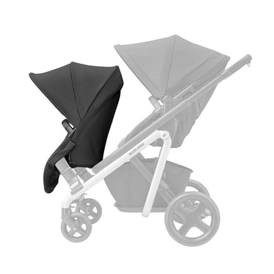 Maxi-Cosi Lila Duo Seat Unit - Nomad Black-Stroller Seats- Natural Baby Shower