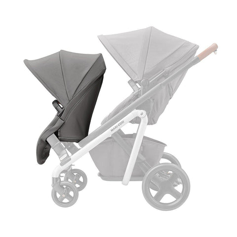 Maxi-Cosi Lila Duo Seat Unit - Nomad Grey-Stroller Seats- Natural Baby Shower