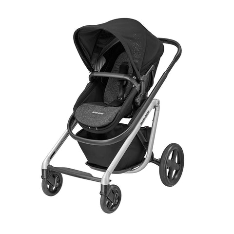 Maxi-Cosi Lila Pushchair - Nomad Black-Strollers- Natural Baby Shower