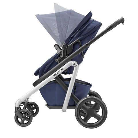 Maxi-Cosi Lila Pushchair - Nomad Blue-Strollers- Natural Baby Shower