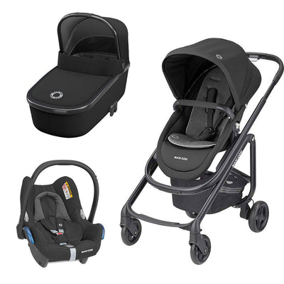 Maxi-Cosi Lila SP Travel System - Essential Black-Travel Systems- Natural Baby Shower