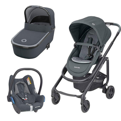Maxi-Cosi Lila SP Travel System - Essential Graphite-Travel Systems- Natural Baby Shower
