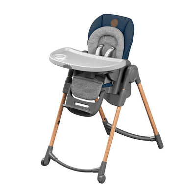 Maxi-Cosi Minla Highchair - Essential Blue-Highchairs- Natural Baby Shower