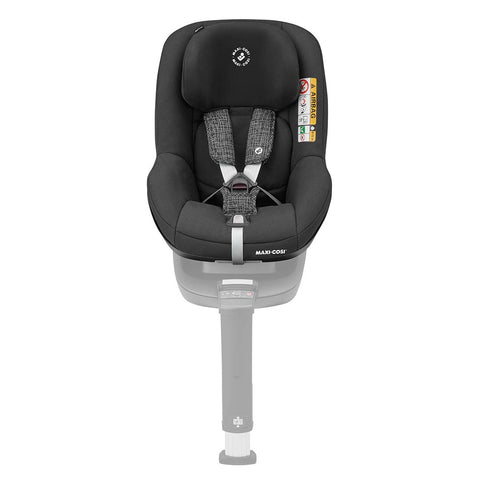 Maxi-Cosi Pearl Smart i-Size Car Seat - Black Grid-Car Seats- Natural Baby Shower