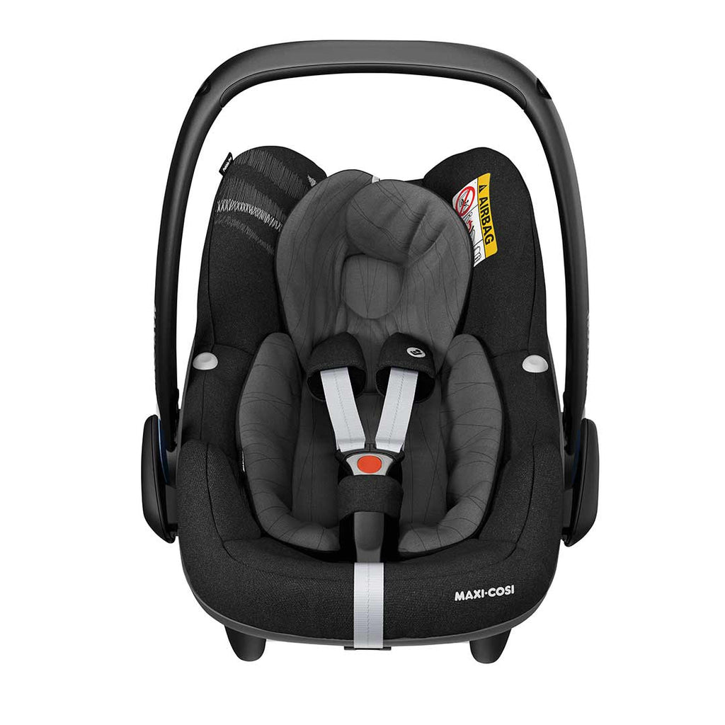 maxi cosi pebble plus car seat in frequency black natural baby shower. Black Bedroom Furniture Sets. Home Design Ideas