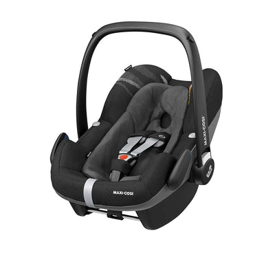 Ex-Display - Maxi-Cosi Pebble Plus i-Size Car Seat - Frequency Black-Car Seats- Natural Baby Shower