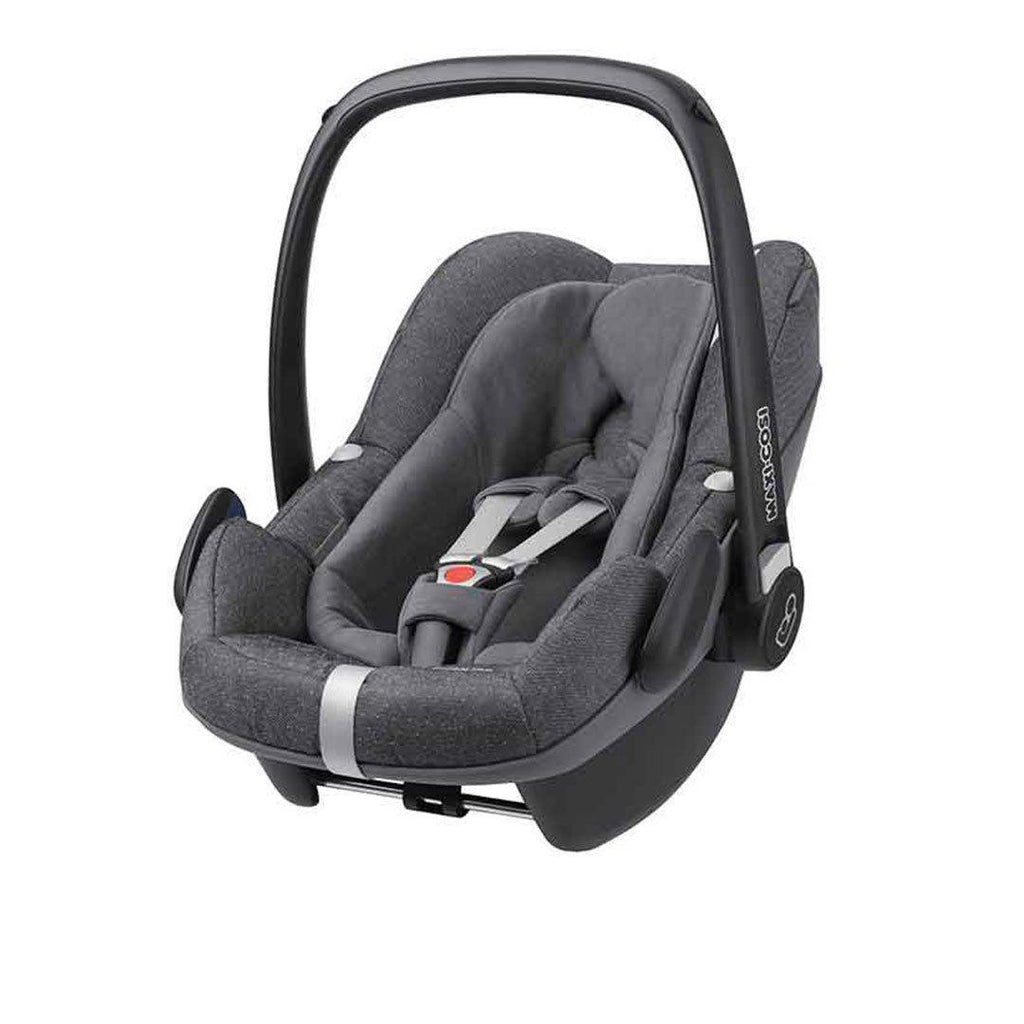 maxi cosi pebble plus car seat in sparkling grey natural baby shower. Black Bedroom Furniture Sets. Home Design Ideas