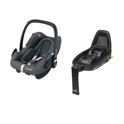 Maxi-Cosi Rock i-Size Car Seat Bundle - Essential Graphite-Car Seats- Natural Baby Shower
