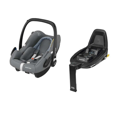 Maxi-Cosi Rock i-Size Car Seat Bundle - Essential Grey-Car Seats- Natural Baby Shower