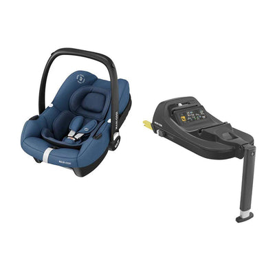 Maxi-Cosi Tinca i-Size Car Seat + Tinca Base - Essential Blue-Car Seats- Natural Baby Shower