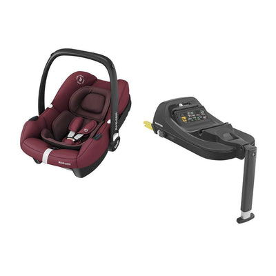 Maxi-Cosi Tinca i-Size Car Seat + Tinca Base - Essential Red-Car Seats- Natural Baby Shower