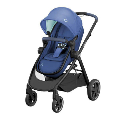 Maxi-Cosi Zelia Pushchair - Essential Blue - 2020-Strollers- Natural Baby Shower