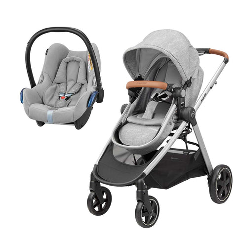 Maxi-Cosi Zelia & Cabriofix Travel System - Nomad Grey-Travel Systems- Natural Baby Shower