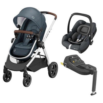 Maxi-Cosi Zelia2 Travel System - Essential Graphite-Travel Systems- Natural Baby Shower