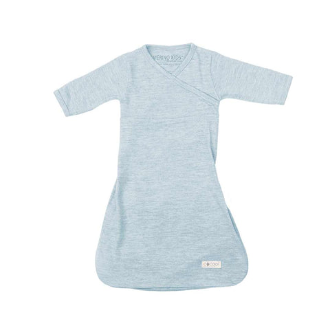 Merino Kids Cocooi Gown - Turtle Dove