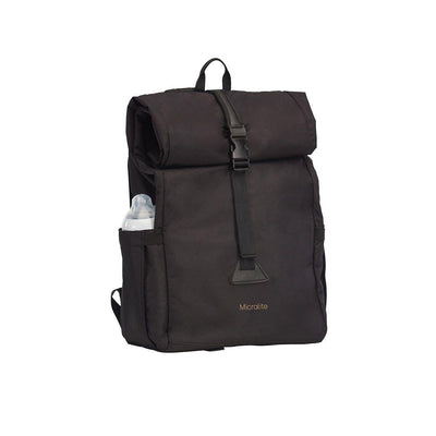 Micralite 25l DayPack Bag - Black-Changing Bags- Natural Baby Shower