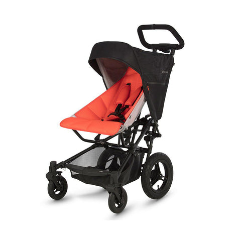 Micralite FastFold Stroller - Black/Flouro-Strollers- Natural Baby Shower