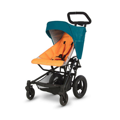 Micralite FastFold Stroller - Teal/Orange-Strollers- Natural Baby Shower