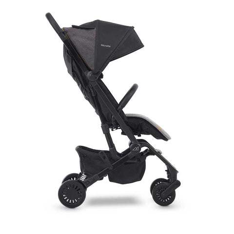 Micralite ProFold Compact Stroller - Carbon-Strollers- Natural Baby Shower