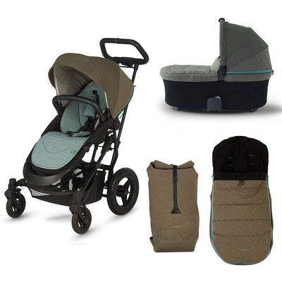 Micralite SmartFold Bundle 2 - Evergreen-Stroller Bundles- Natural Baby Shower