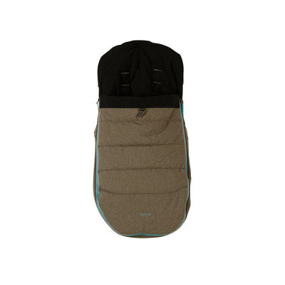 Micralite SmartFold Footmuff - Evergreen-Footmuffs- Natural Baby Shower