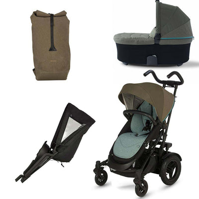 Micralite TwoFold Bundle - Evergreen-Stroller Bundles- Natural Baby Shower