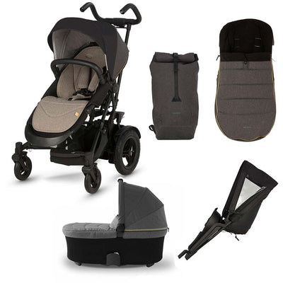 Micralite TwoFold Bundle 2 - Carbon-Stroller Bundles- Natural Baby Shower