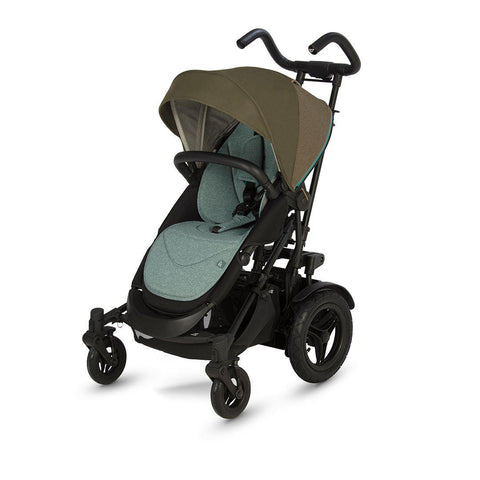 Micralite TwoFold Stroller - Evergreen-Strollers- Natural Baby Shower