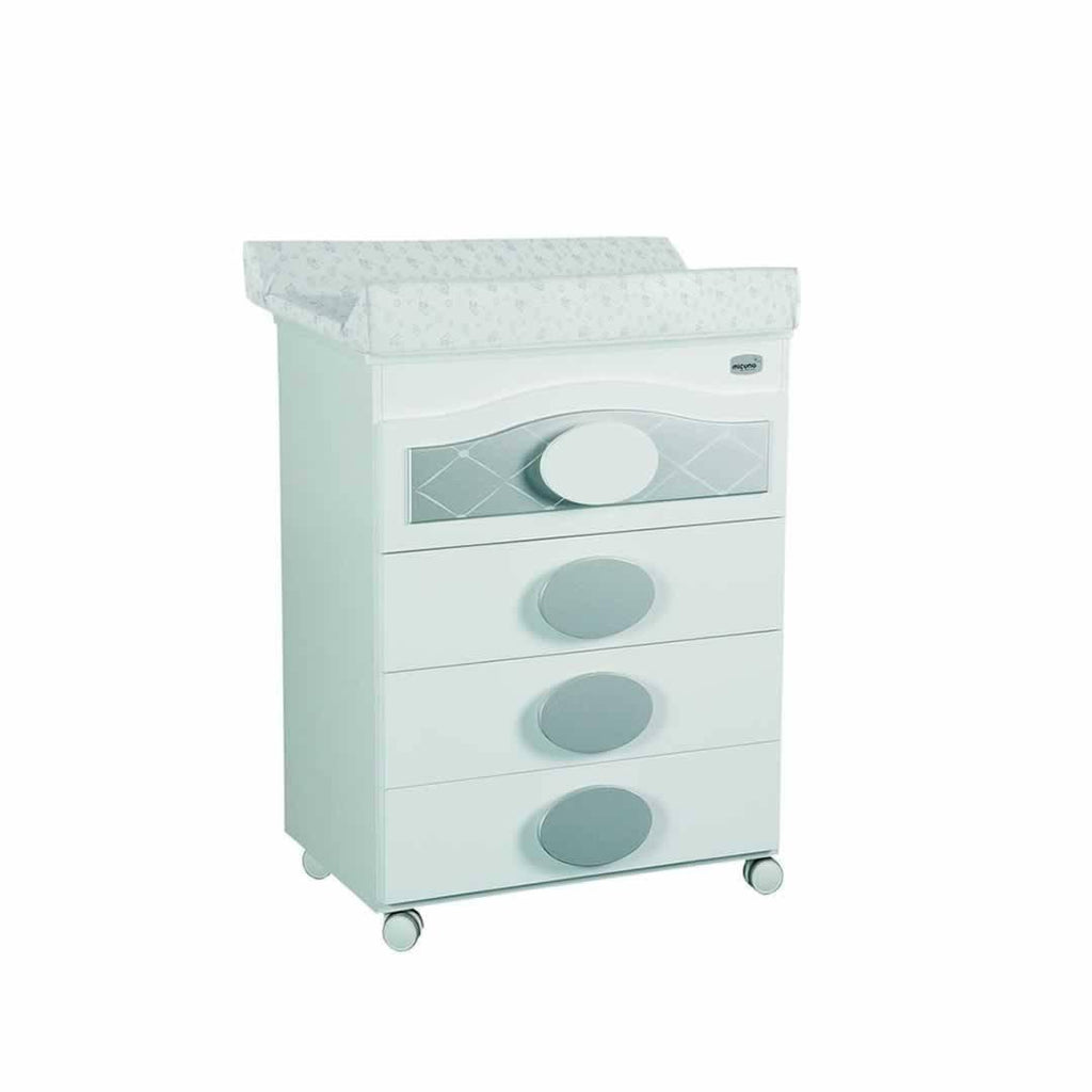 Micuna Alexa Baby Bath Unit in Silver