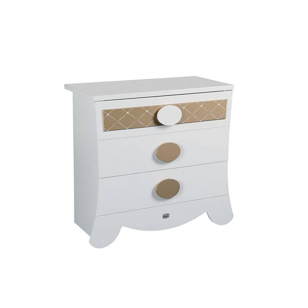 Micuna Alexa Chest of Drawers in Gold