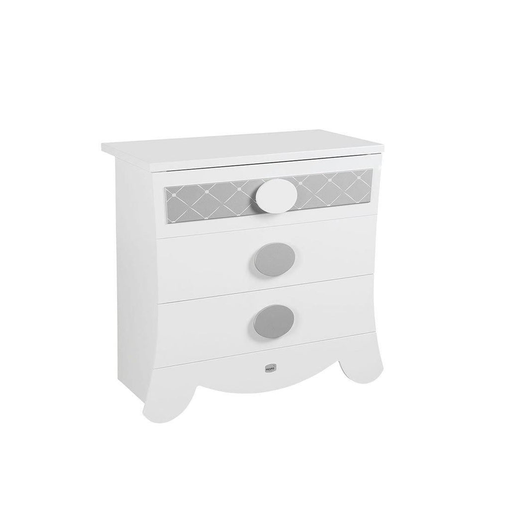 Micuna Alexa Chest of Drawers in Silver