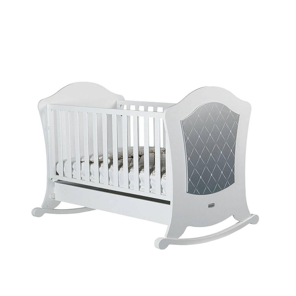 Micuna Alexa Cot Bed in Silver