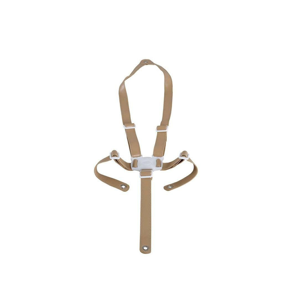 Micuna Ovo Luxe High Chair Beige Leatherette Harness