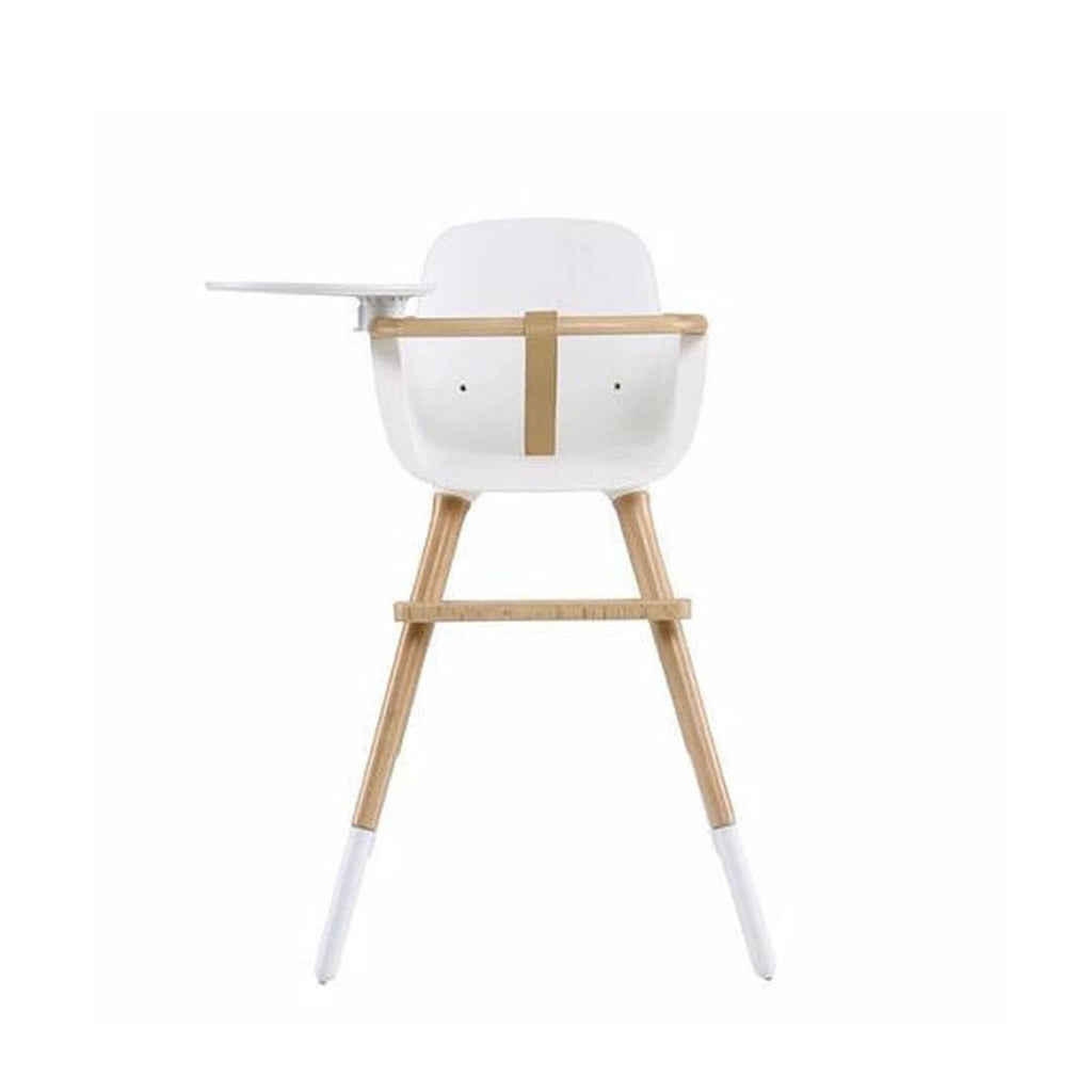 Micuna Ovo Luxe High Chair + Beige Leatherette Harness