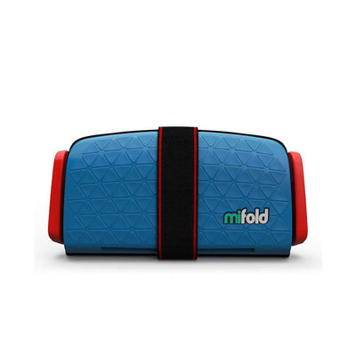mifold - the Grab-and-Go Booster® seat - Denim Blue-Car Seats- Natural Baby Shower