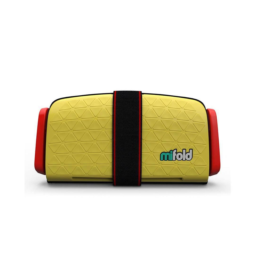 Mifold Booster Seat in Taxi Yellow