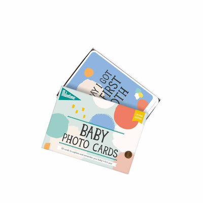 Milestone Limited Edition Baby Photo Cards-Greeting Cards-Default- Natural Baby Shower
