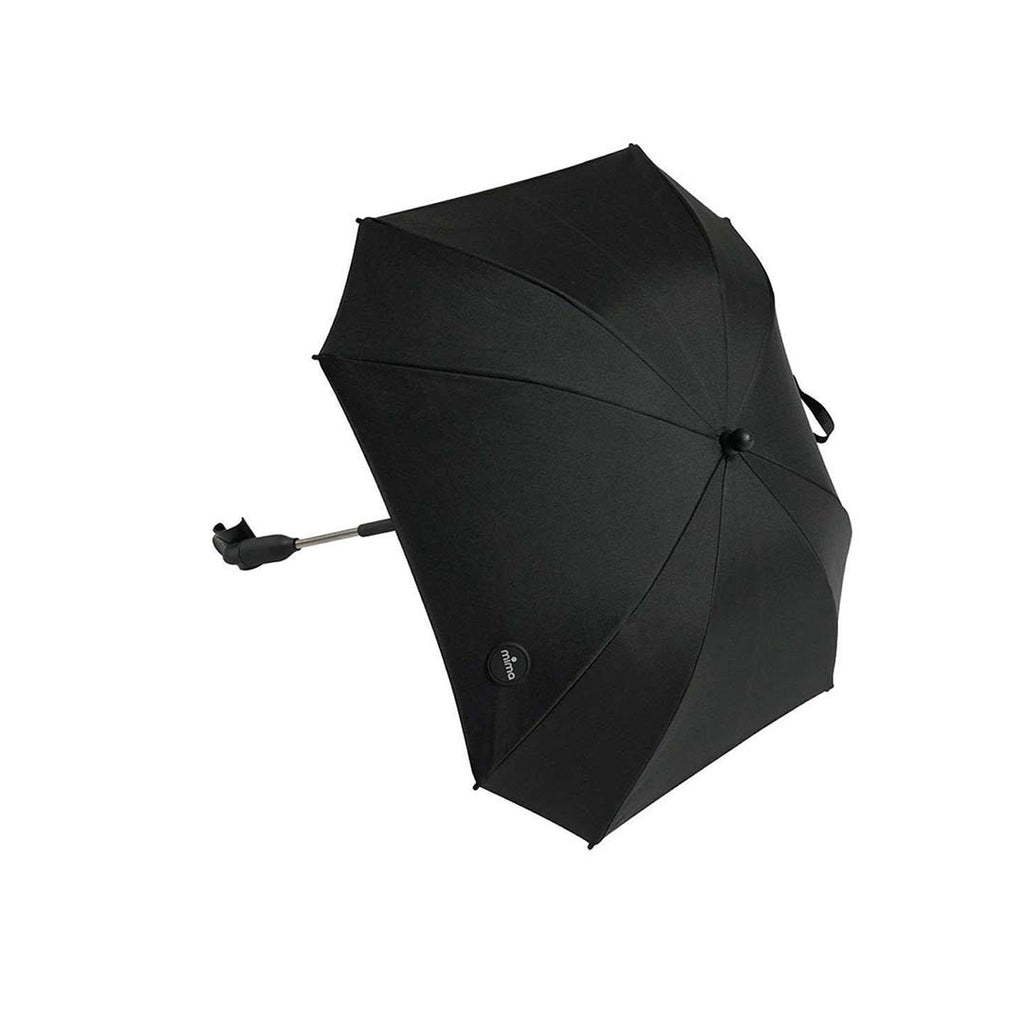 Mima Parasol - Black-Parasols-Black- Natural Baby Shower