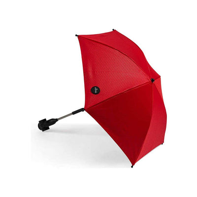 Mima Parasol - Ruby Red-Parasols-Ruby Red- Natural Baby Shower