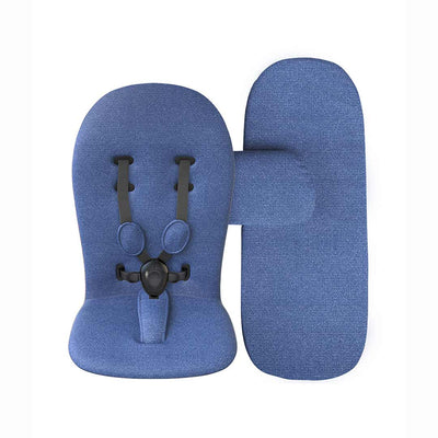 Mima Starter Pack - Denim Blue-Seat Liners- Natural Baby Shower